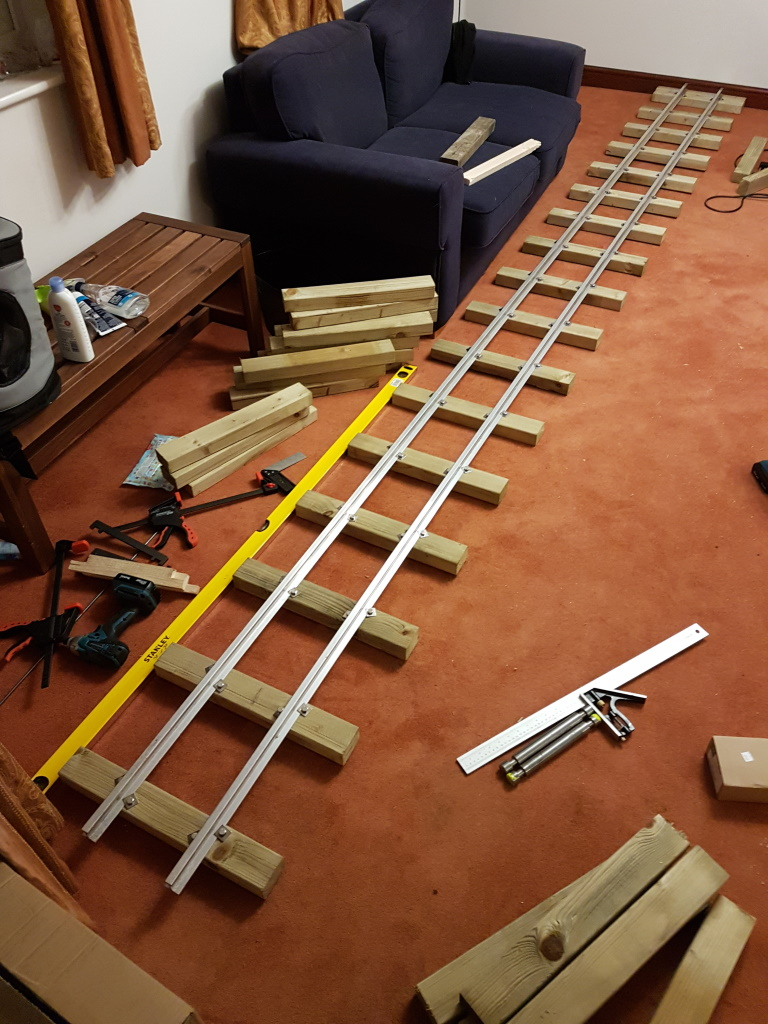 Building a track panel.