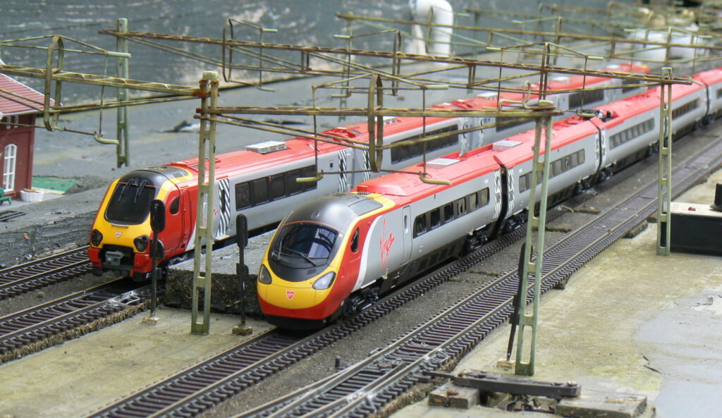 Voyager and Pendolino
